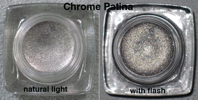 Chrome patina