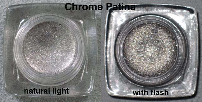 Chrome patina