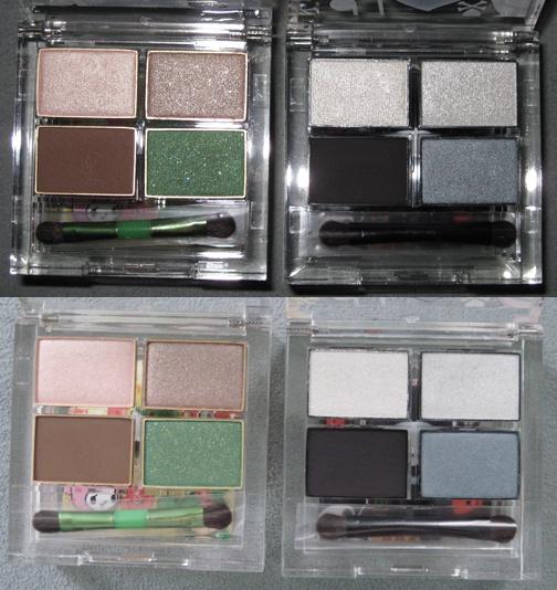 Palettes open