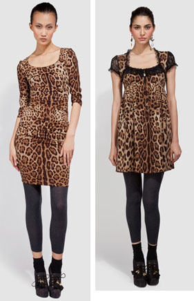 Dg leopard dresses