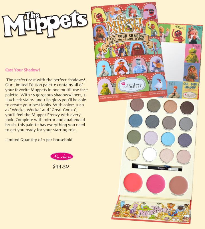 Muppet palette
