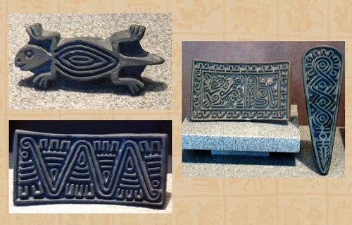 Aztec stamp