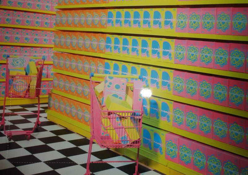Shop aisles