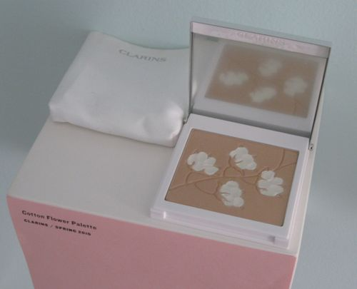 Clarins.cotton.flower