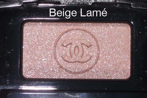 Chanel.beige.lame