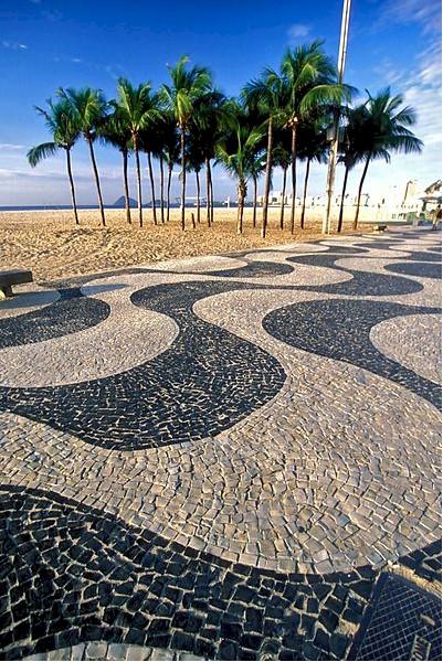 Rio sidewalk