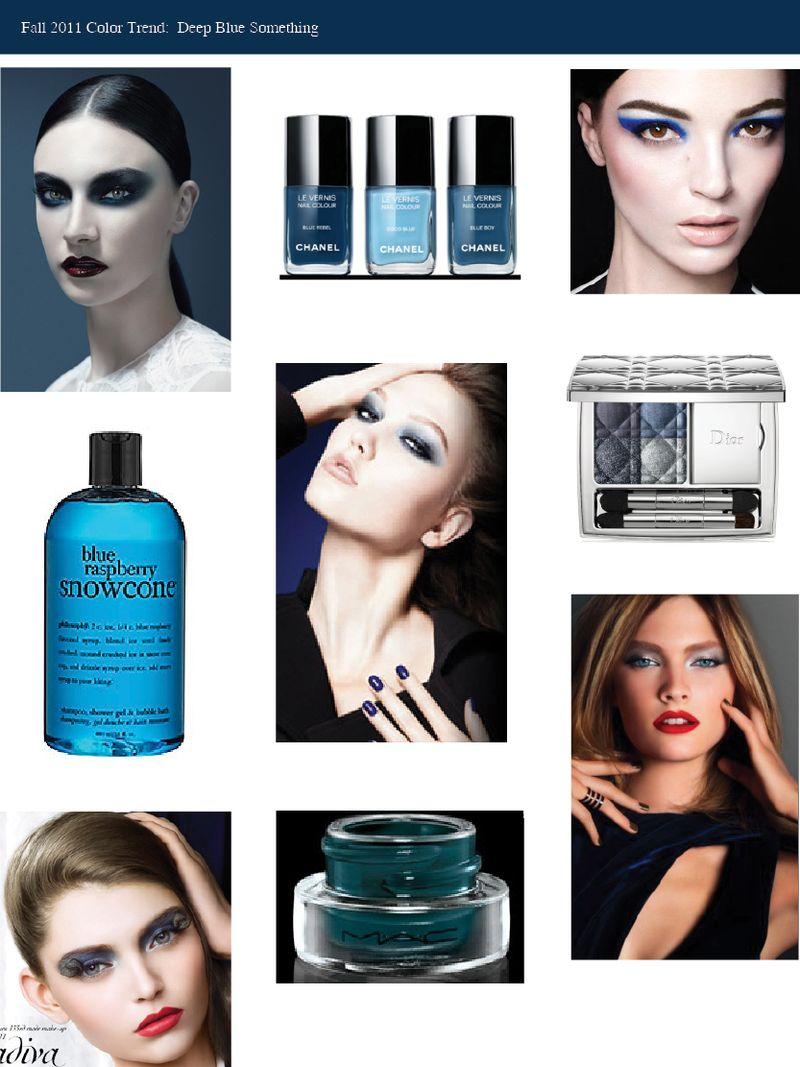 Fall 2011 blue trend