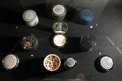 Guerlain exhibit meteorites