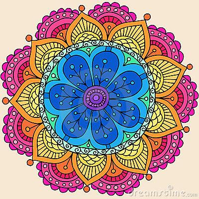 Henna-mandala