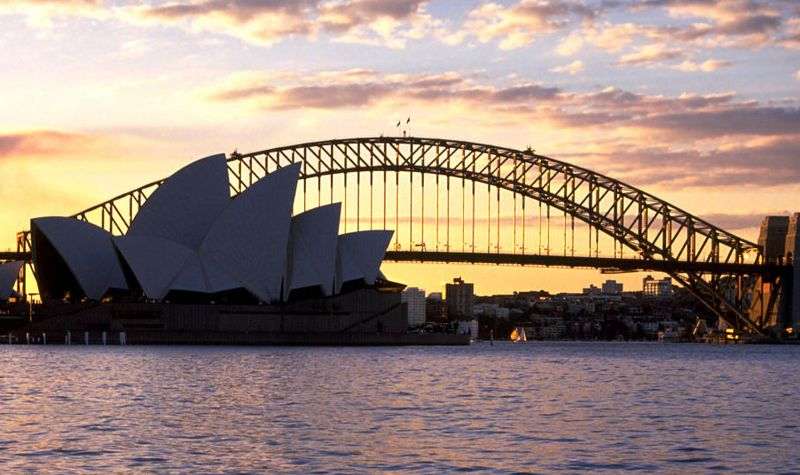 Sydney.OperaHouse.Bridge