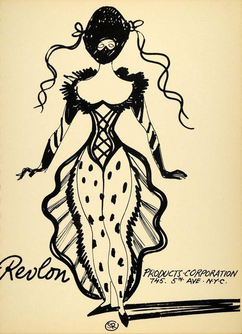 Revlon-lithograph