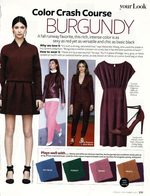 Instyle-oxblood