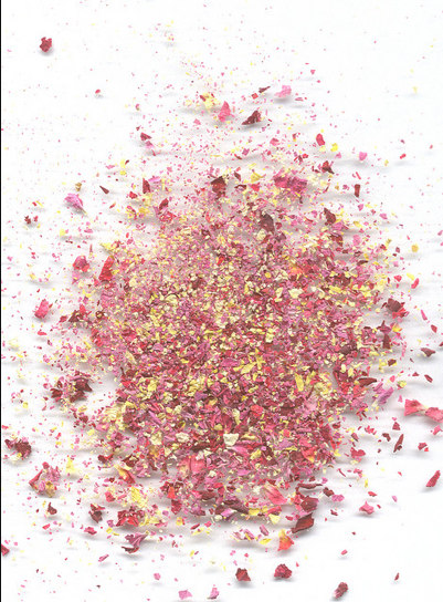 Crushed-rose-petal-field