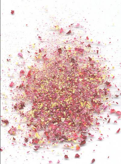 Crushed-rose-petal-field