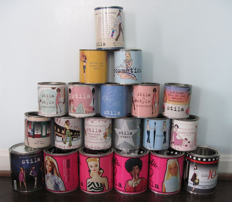 Stila.paint-cans