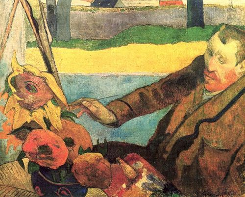 Gauguin_sunflowers