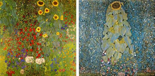 Klimt-sunflowers2