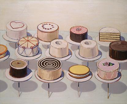 Thiebaud-cakes
