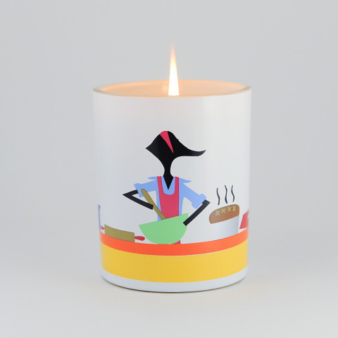 R. Nichols-baking-candle