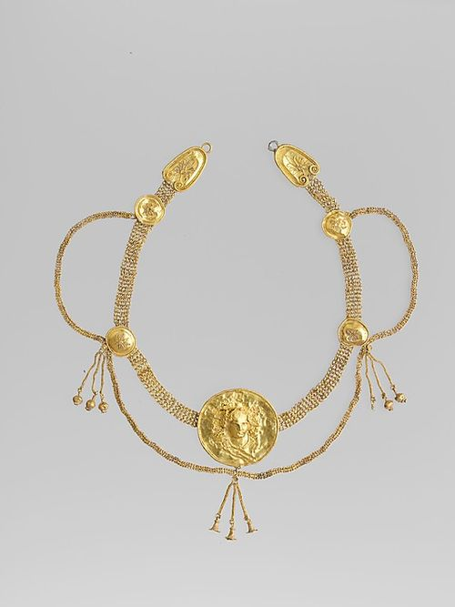 Greek necklace