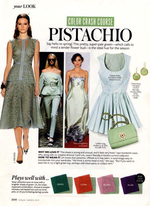 Instyle.pistachio