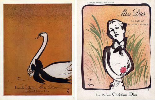 Dior-perfume-ads-1949-1954