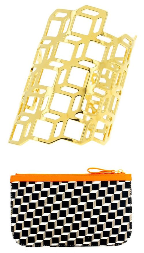 Pierre-Hardy-cube-cuff-pouch