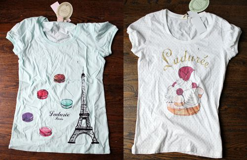 Laduree-shirts