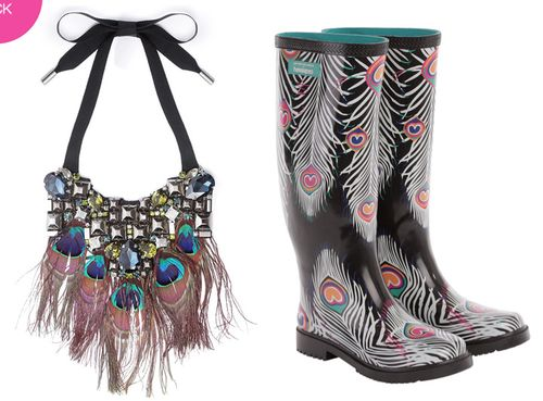 Peacock-necklace-boots