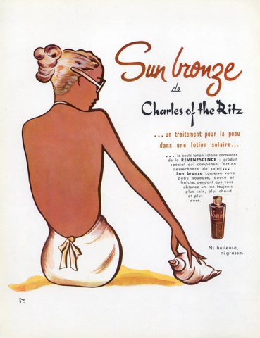 Charles-of-the-ritz-1953-sun-bronze-swimmer-shell-hprints-com