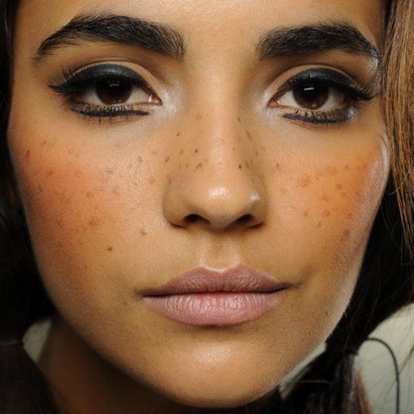 c27bb3e0d The Makeup Museum: A brief history of faux freckles