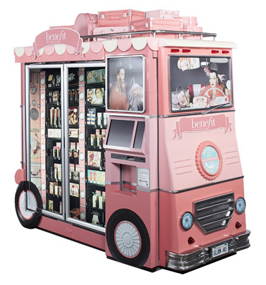 Benefit-vending-machinee
