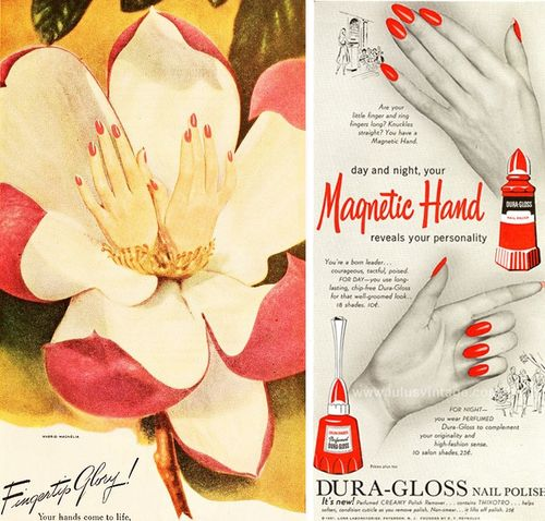 Duragloss-hands-1945-1951