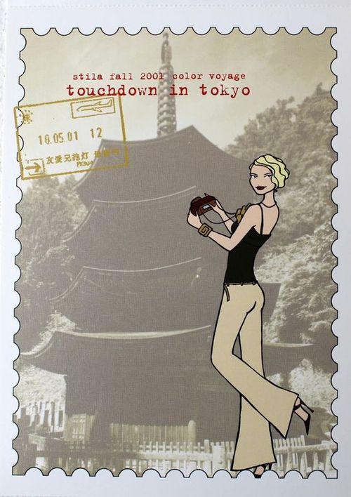 Stila-touchdown-in-tokyo-postcard