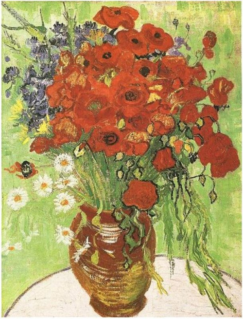 Van-Gogh-Red-Poppies-and-Daisies