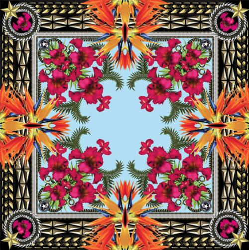 Givenchy-iris-print