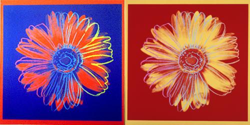 Warhol-daisy-prints