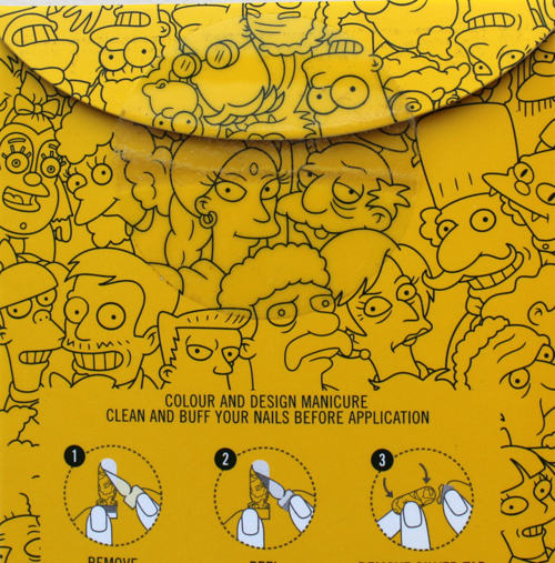 MAC-Simpsons-nail-stickers-packaging