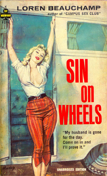 Pulp-Cover-Sin-on-Wheels