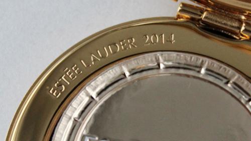 Estée Lauder Glittering Stars compact detail