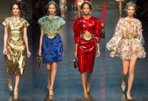 Dolce & Gabbana spring 2014 runway