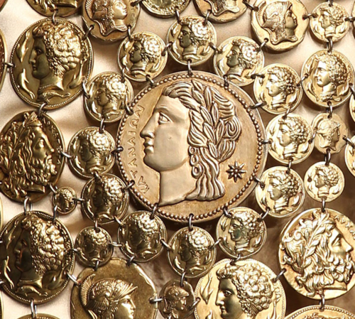 Dolce & Gabbana Athena coin detail