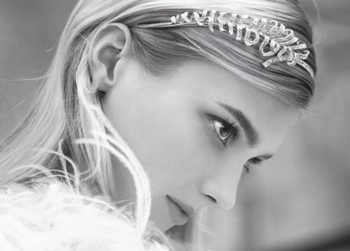 Chanel Plume headband