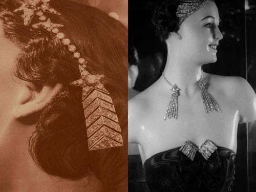 Chanel Comète jewelry, 1932