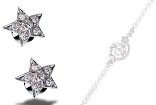 Chanel Comète earrings and bracelet