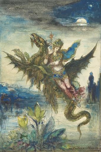 Rêve d'Orient by Gustave Moreau