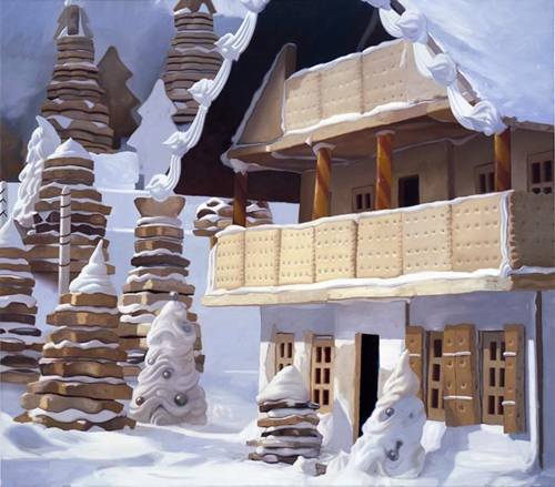 Will Cotton:  Chalet (2003)
