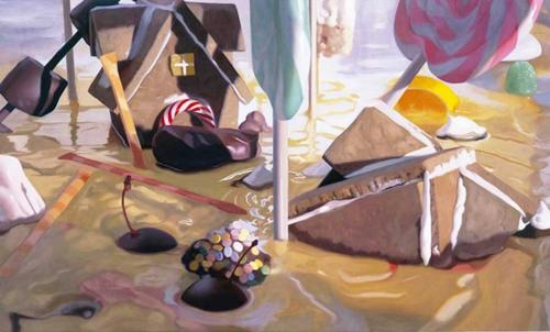 Will Cotton:  Pudding Flood (2003)