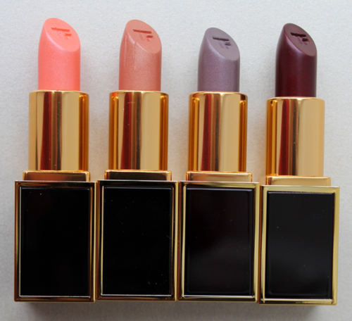Tom-Ford Luca, William, Stavros and Wes lipsticks