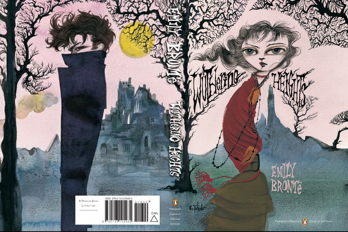 Ruben-Toledo - book cover for Wuthering Heights